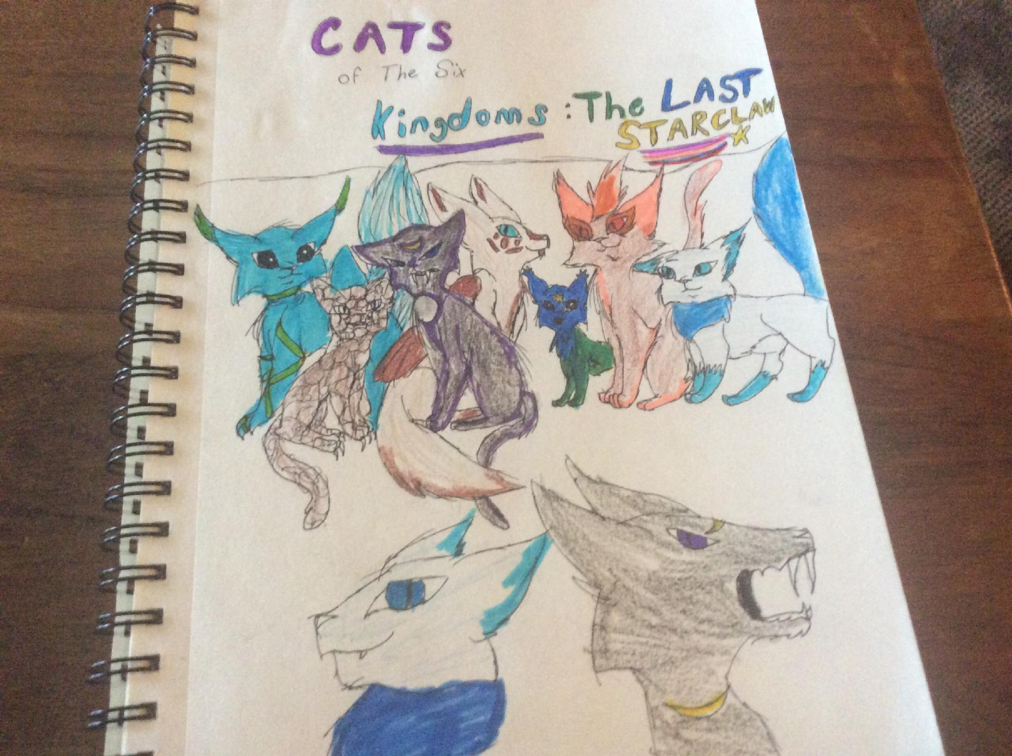Cats of the six kingdoms; The last Starclaw-comic