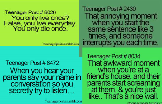 Teen quotes!!