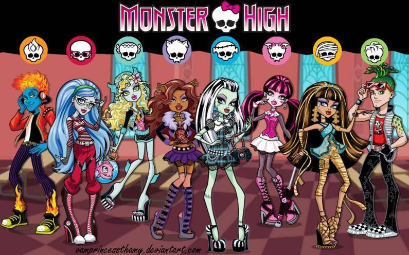 the monster high club's Photo