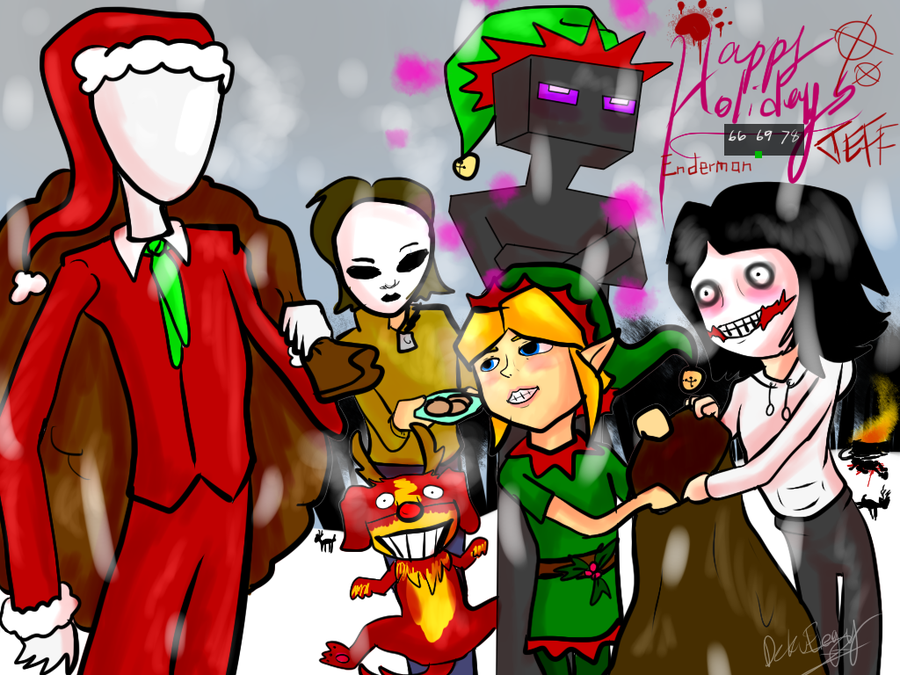 Creepypasta Christmas!