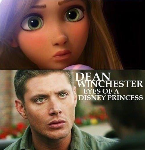 Dean Winchester is a Disney princess