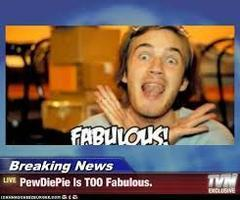 Pewdiepie is the best and most subscribed youtuber!'s Photo