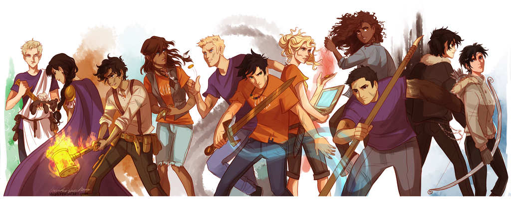 Percy jackson and the Heroes Of Olympus Fan page