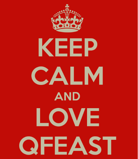 qfeast chat page