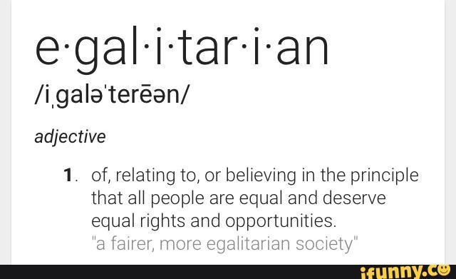 Egalitarian Page!