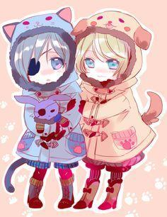 Ciel and Alois fan page
