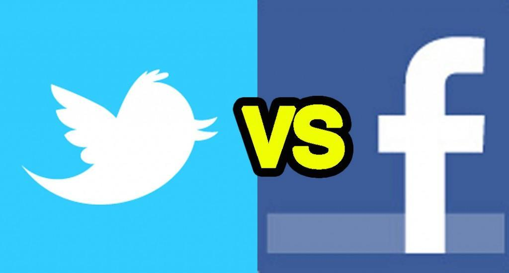 Which do you prefer: Facebook or twitter?