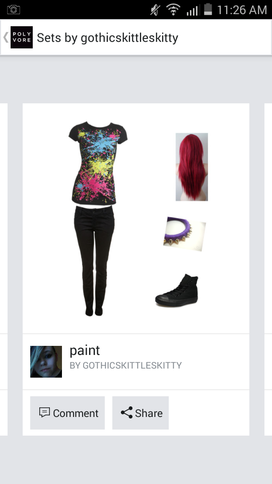 the polyvore page's Photo
