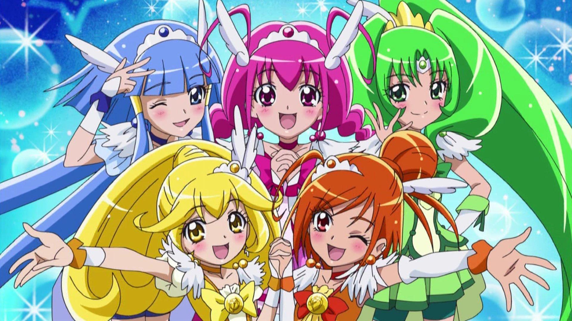 The Glitter Force Fan club!