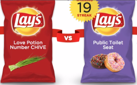 Weird Lays Chip Flavors