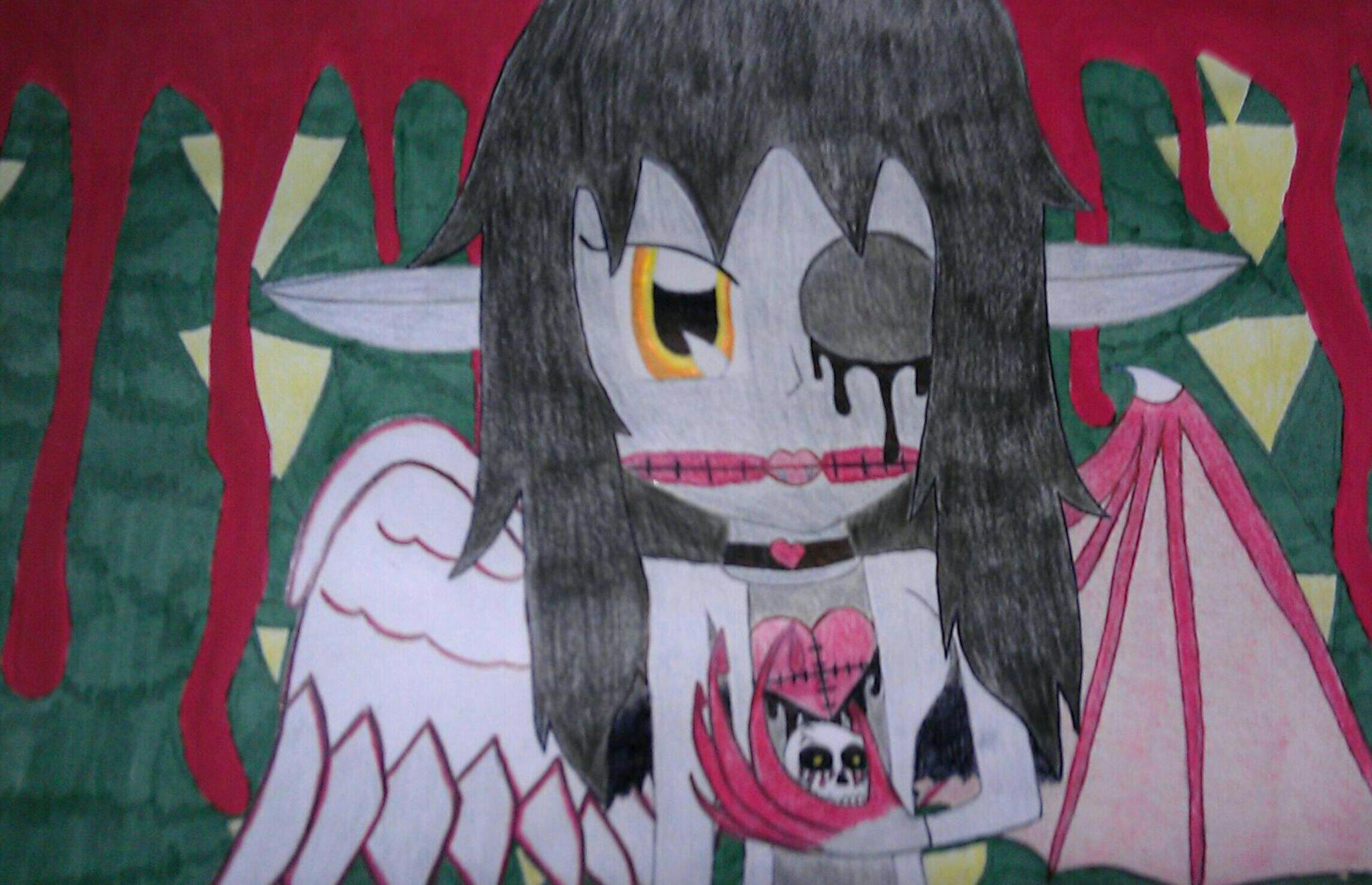Creepypasta drawing's Photo