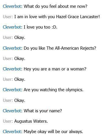 Cleverbot Conversations!'s Photo