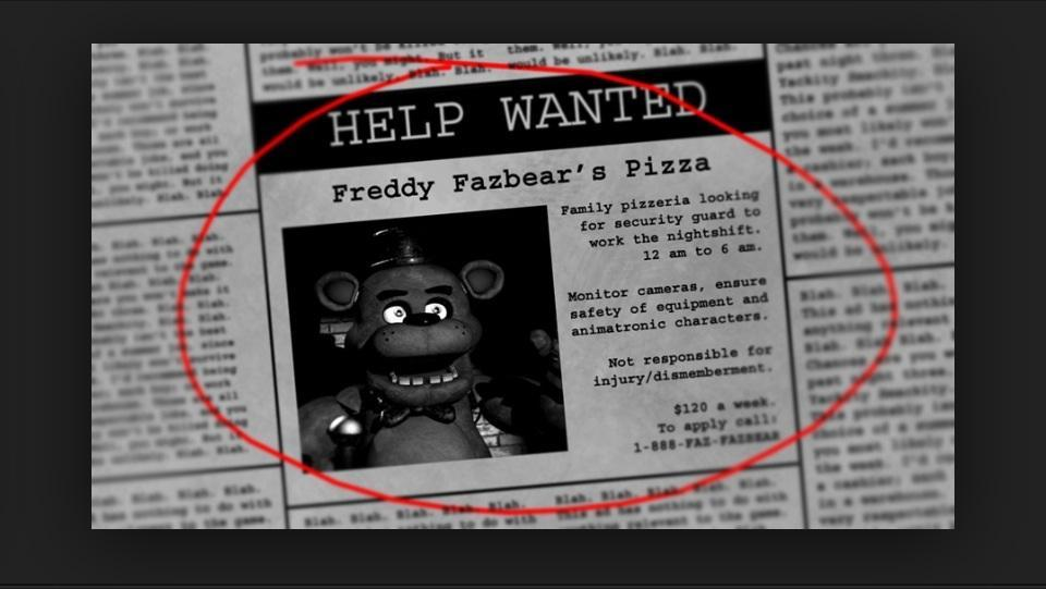 Five nights at Freddy's roleplay (1)