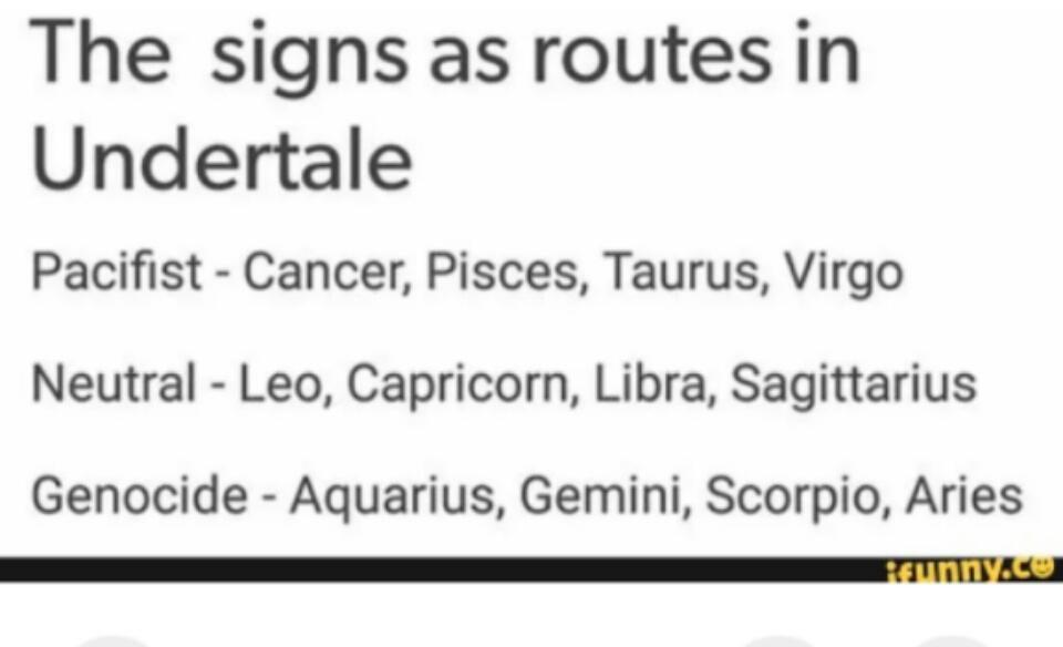 The Zodiac Signs page's Photo