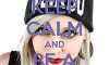 Keep Calm Request Page