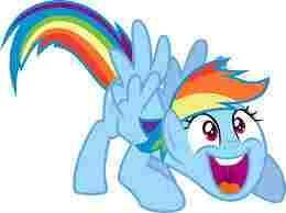 Rainbow Dash Fan Page