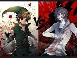 Jeff the killer or Ben drowned