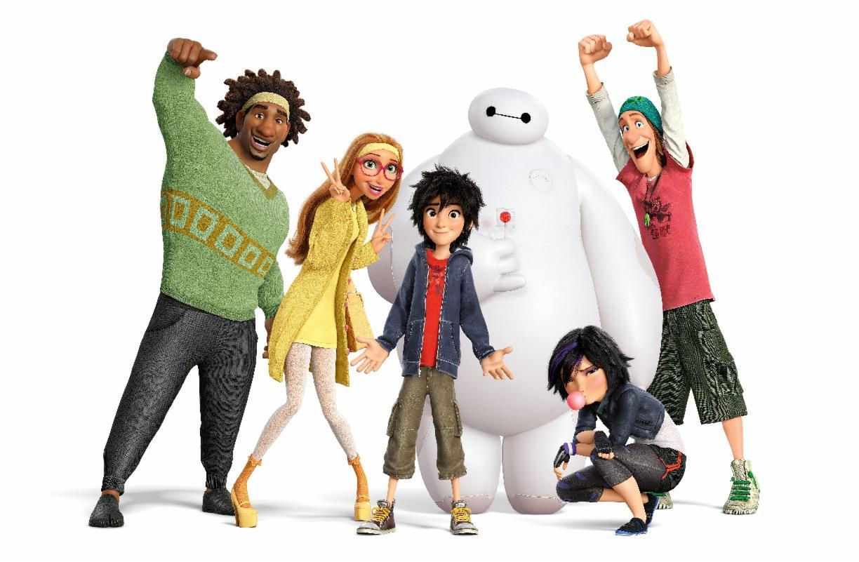 Did you enjoy the movie Big Hero 6?