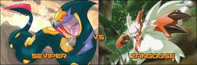 Who's more powerful, Zangoose or Seviper, two archrivals?