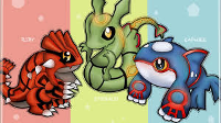 Out of the weather Trio (Kyogre, Groudon, and Rayquaza) is your favorite?
