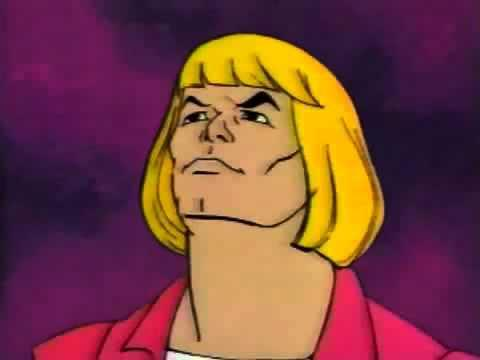 Would you listen to hee-man for an hour?!