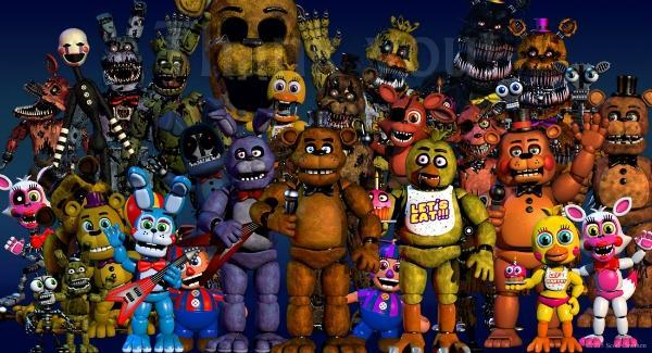 Which Five Nights at Freddy's do you found the most creepy/scary? have to chose one