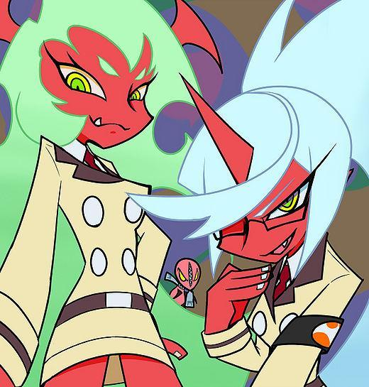 Scanty or Kneesocks? (from P anty and Stocking)