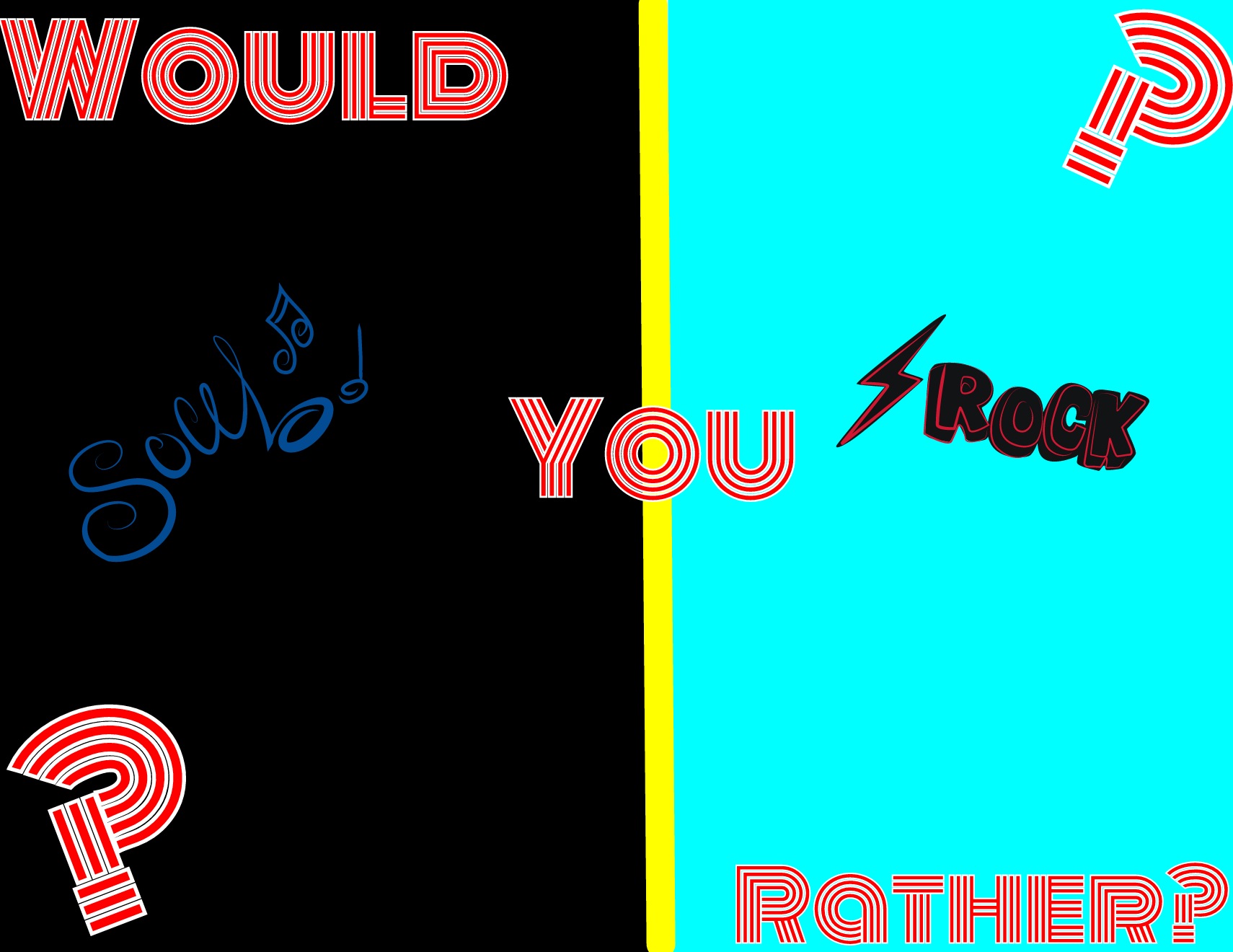 Maria's: Would You Rather? #1 (3)