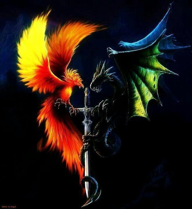 would you rather be a phoenix or a dragon?