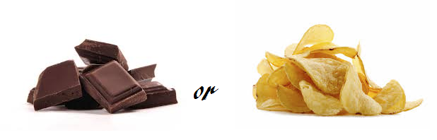 Crisps or Chocolate?