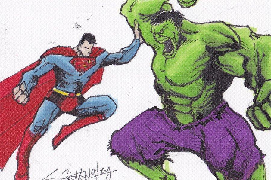 Superman or The Hulk?