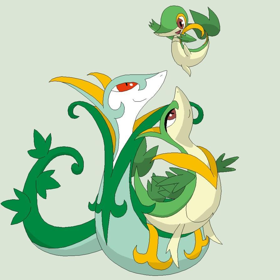 Favorite Snivy Evolution