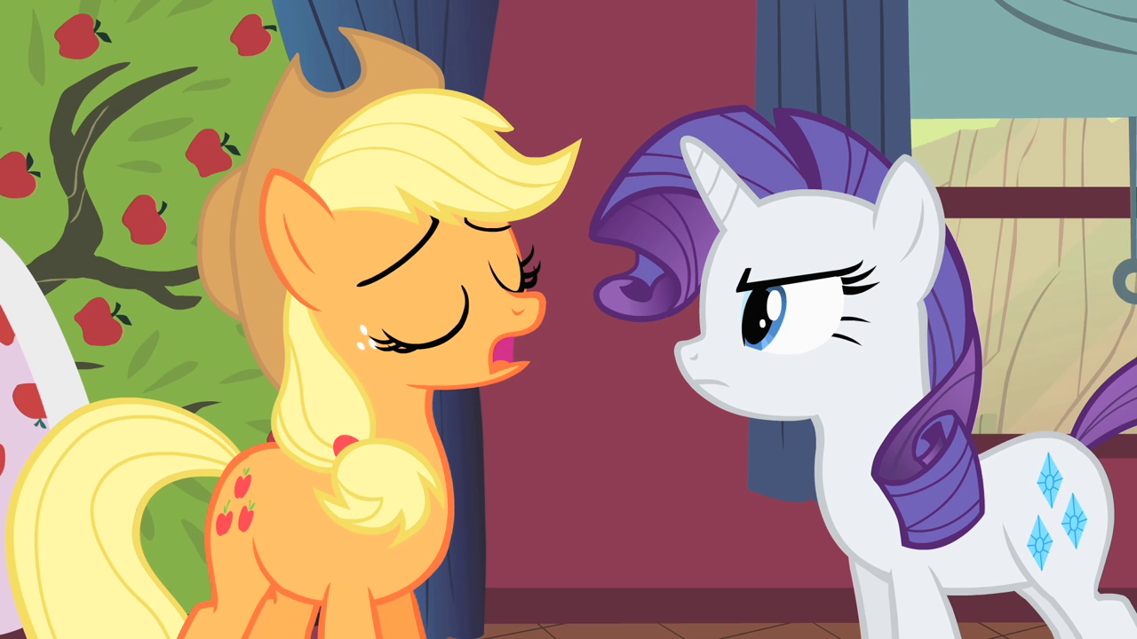 Rarity or Applejack? (1)