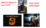Hunger Games, Twilight, or Divergent?