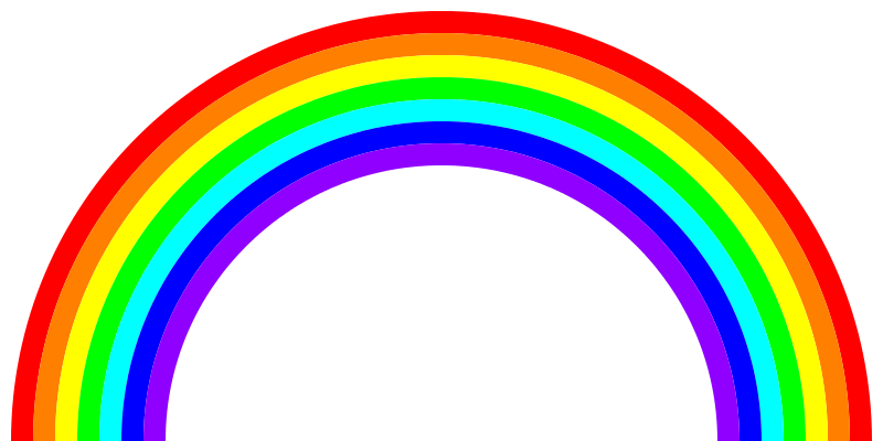 What does a rainbow make you think of?