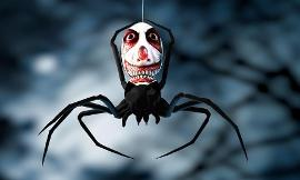 Which is scarier Clowns or Spiders?