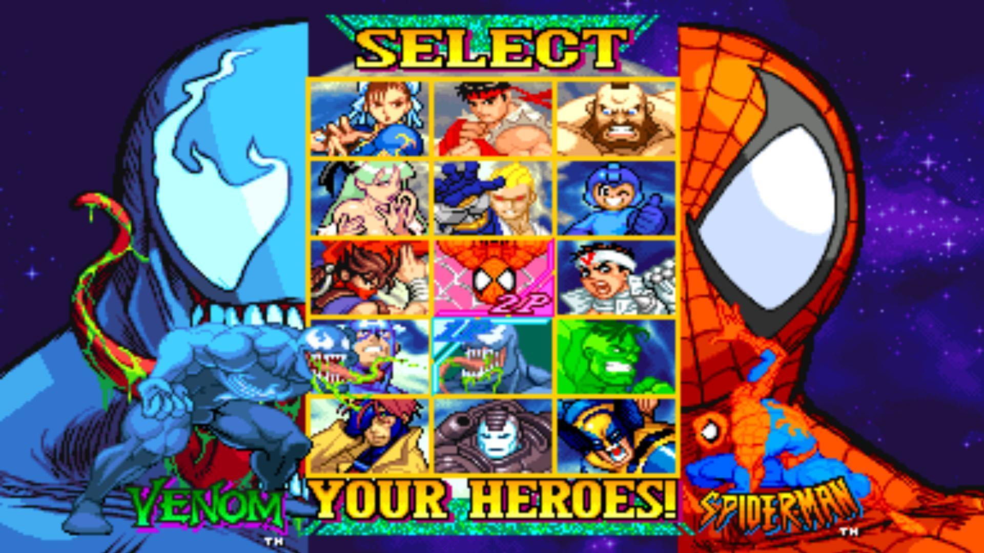 Marvel VS Capcom what side?!