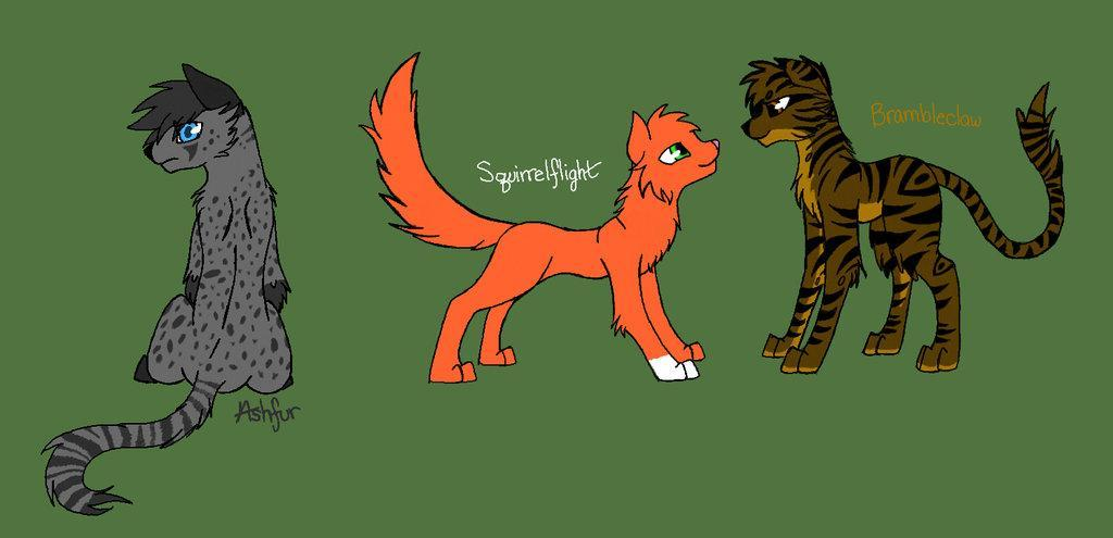 Which TomCat makes the better match for Squirrelflight?