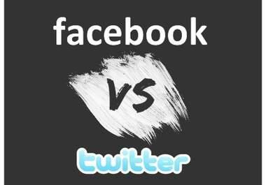 Twitter or Facebook?