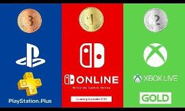 Which console service do you think is best: PlayStation Plus, Nintendo Switch Online or Xbox Live?