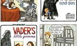 Darth Vader and Son or Vader's Little Princess?