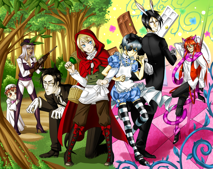 Would you rather?~Black Butler 10