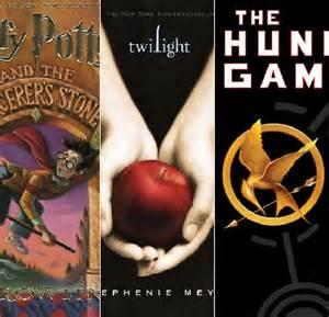 Hunger games, Twilight, or Harry potter?