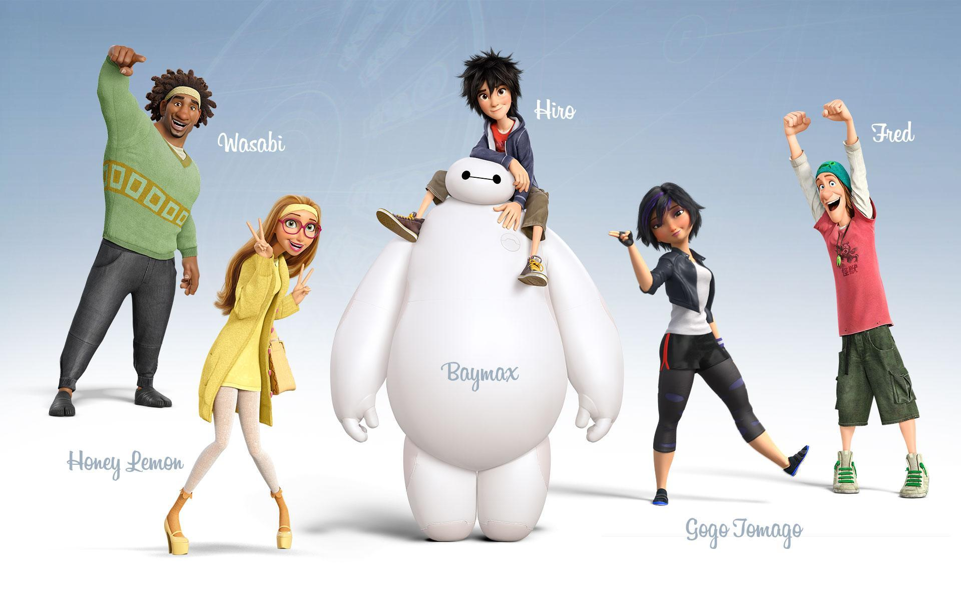 Who is your favourite person of the squad in Big Hero 6?