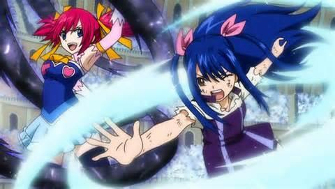 Fairy Tail: Wendy vs Chelia