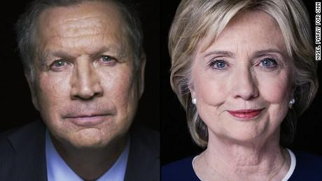 General Election: Clinton vs KAsich?