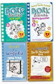 Dork diaries or diary of a wimpy kid?