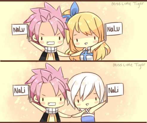 Please, don't fight over this, but do you ship NaLu or NaLi better?