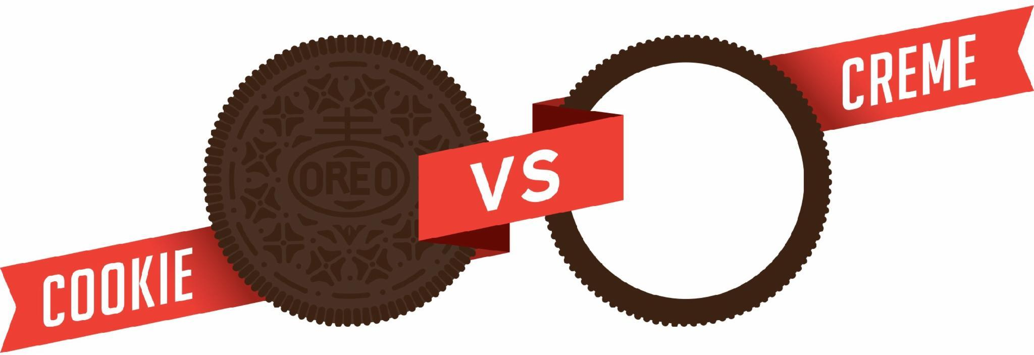 Oreo- Cookie vs Cream