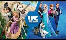 Which animation movie do you like more: Frozen or Tangled?